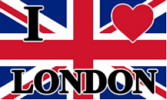 I Love London Flags